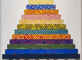 'Ziggurat II' by Joe Tilson
