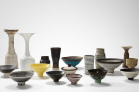 All works by Lucie Rie. Photo credit: Copyright Erskine, Hall & Coe Ltd.; Photography by Michael Harvey.